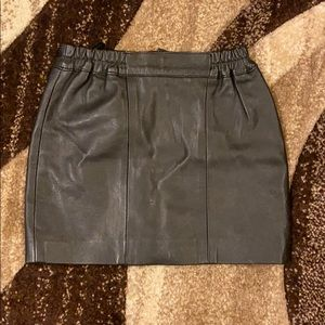 Other - Little girl's genuine leather mini skirt